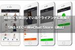 越境ECを検討しているクライアントに朗報!SNS×EC=WeChat Store(微店)